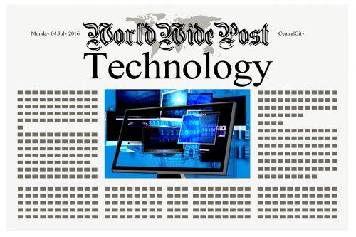 newspaper news technology