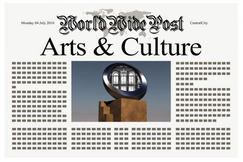 newspaper news art
