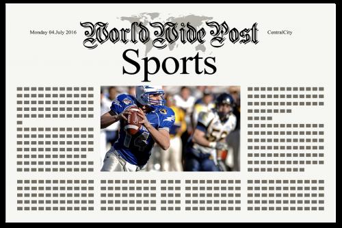 newspaper news sport