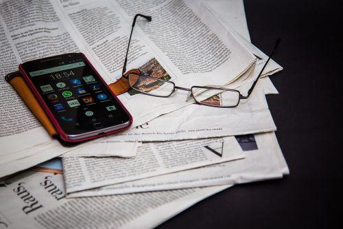 newspaper read information