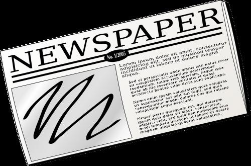 newspaper press information