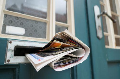 newspaper post mailbox