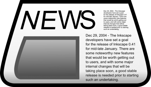 newspaper paper news