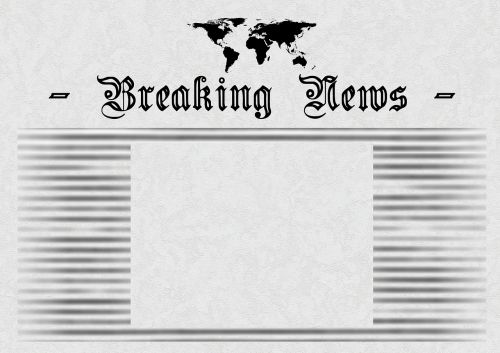 newspaper news design