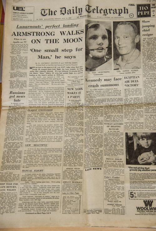 newspaper historic first
