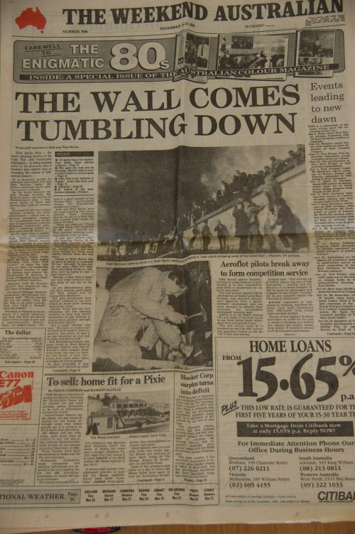 newspaper historic front