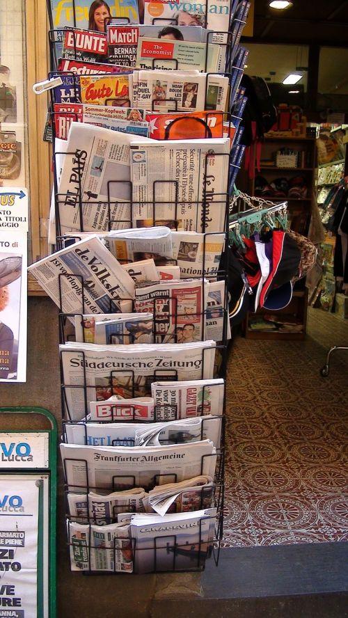 newspaper newspapers news