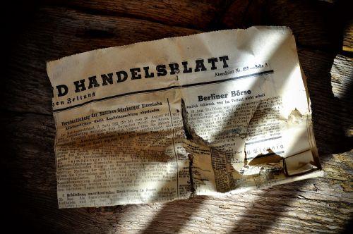 newspaper daily newspaper trade newspaper