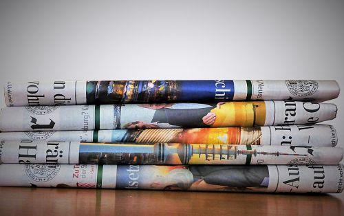 newspaper paper newsprint