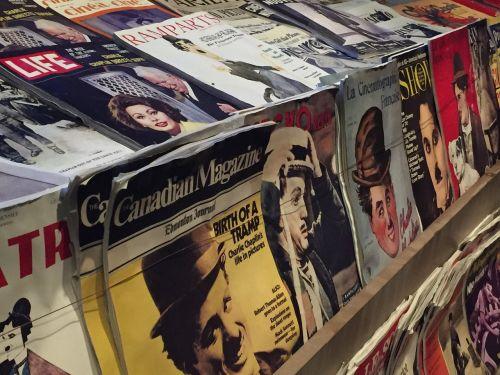 newspapers kiosk journal