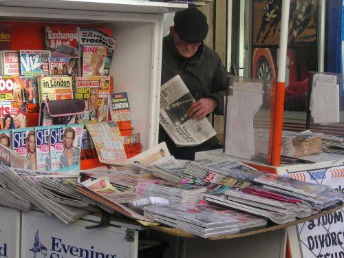 newspapers newspaper stand kiosk