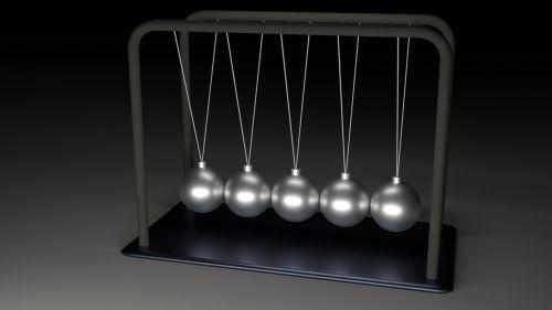 newton pendulum balls