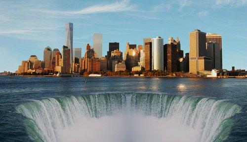 newyork  city  sea