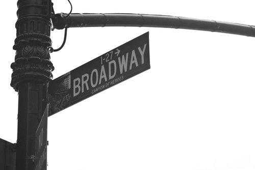 newyork  broadway  street