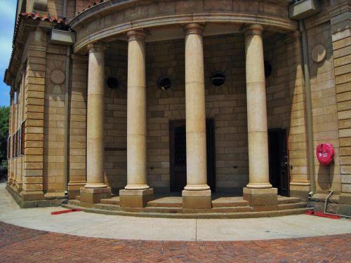 Ng Church,  Pretoria, Pillars