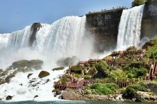 niagara falls usa water masses