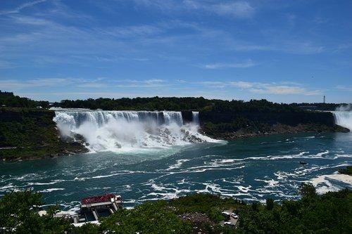niagara falls  water  water falls