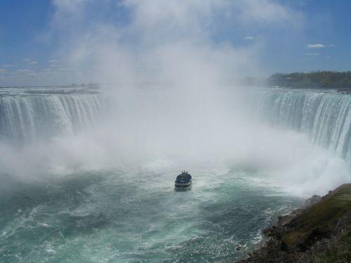 niagara falls mist waterfall