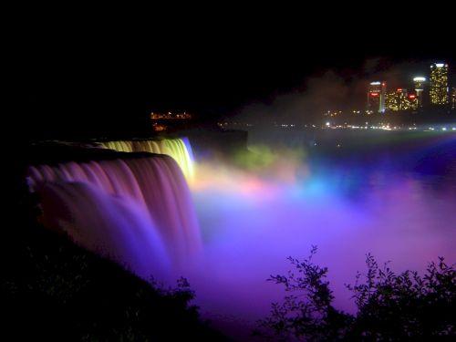 Niagara Falls Dancing Lights