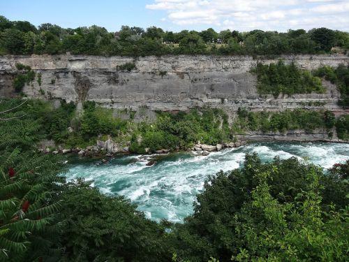 niagara river river blue