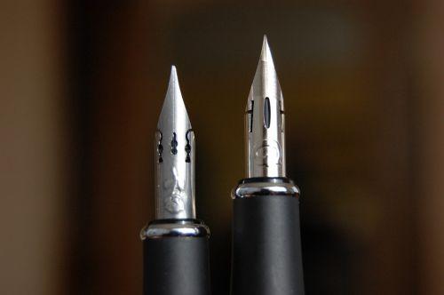 nib ink writing