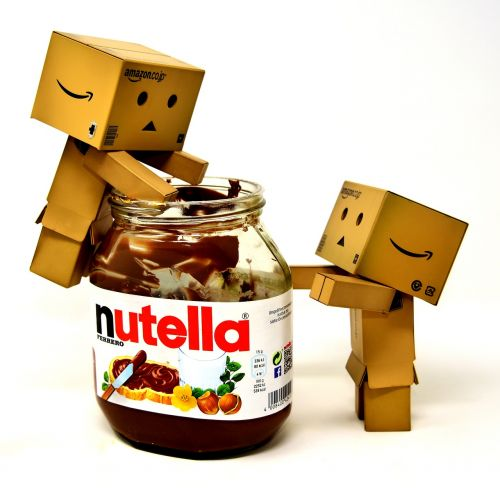 nibble nutella danbo