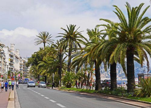 nice boulevard beach promenade