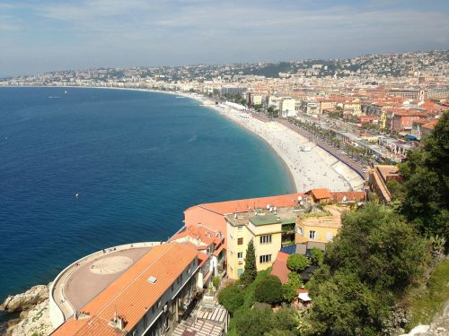 nice france city view