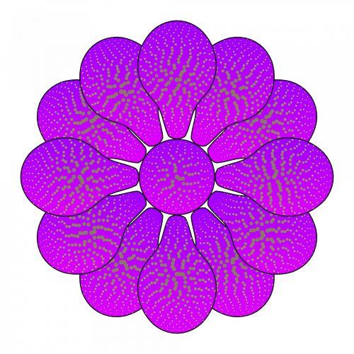 Nice Flower Violet