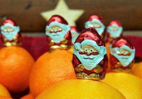 nicholas chocolate decoration