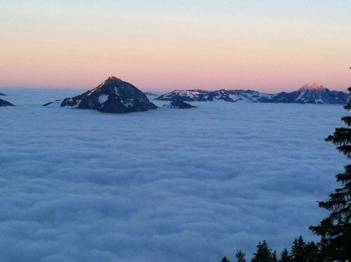 nidwalden mountains panorama