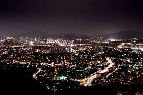 night city city at night
