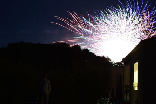 night festival fireworks