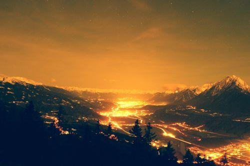 night tyrol austria