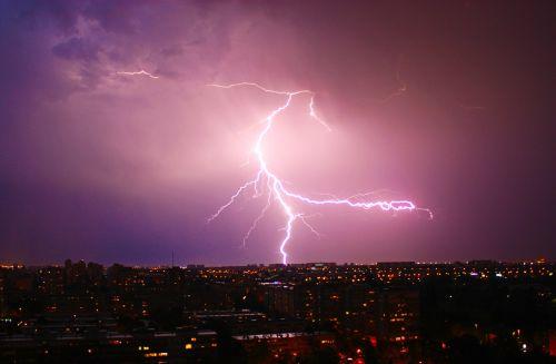 night thunder lig