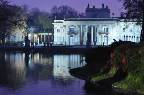 night the palace twilight