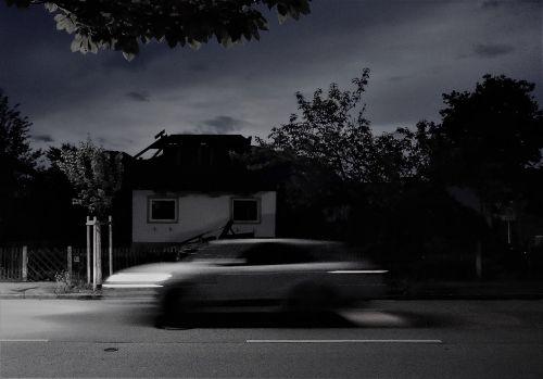 night auto long exposure