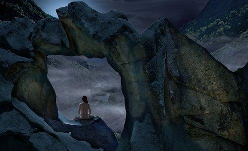 night  luna  meditation