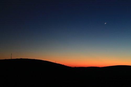 night  dark  twilight