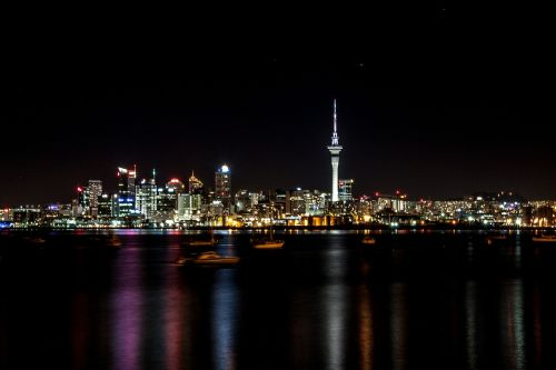 night auckland new zealand