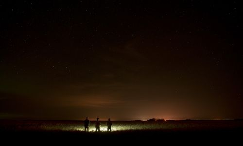 night northern lights nature