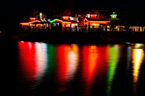 night exposure  light reflection  night