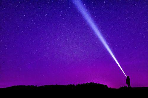 night photograph starry sky night sky