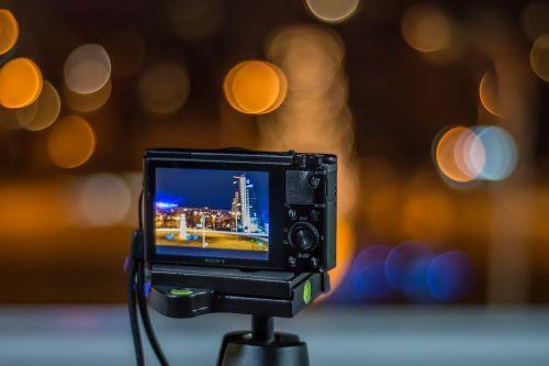 night photography photographer camera