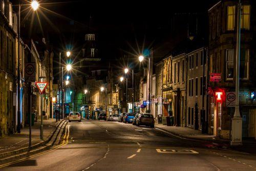 night scene scotland night