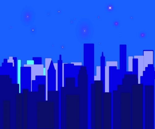 Night Time Cityscape