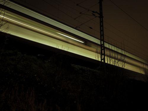 night train train level crossing