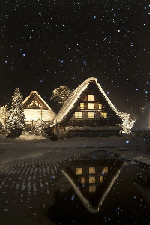 snow shirakawa nunohneun night