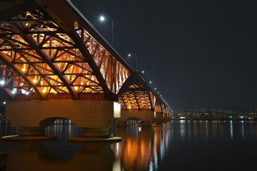 night view night seoul