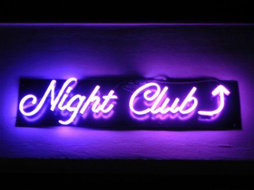 Nightclub In Neon